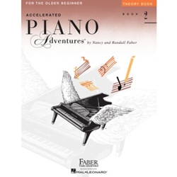 Faber Accelerated Piano Adventures for the Older Beginner Theory Book 2; FF1474