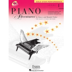 Faber Piano Adventures Gold Star Performance Level 1; FF1603