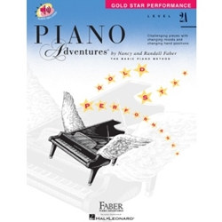 Faber Piano Adventures Gold Star Performance Level 2A; FF1604
