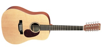 Martin D12X1AE 12-String X Series Acoustic/Electric Guitar
