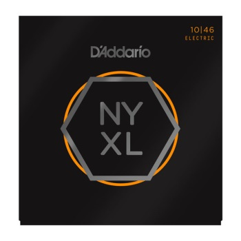 D'Addario NYXL1046 Nickel Wound Regular Light Electric Guitar String Set