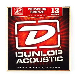 Dunlop Phosphor Bronze Medium Acoustic Guitar String Set