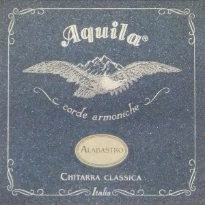 Aquila 19C Alabastro Normal Tension Nylon Guitar String Set