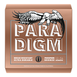 Ernie Ball Paradigm Medium Light Phosphor Bronze Acoustic Guitar Strings - 12-54 Gauge