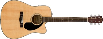 Fender CD-60SCE Dreadnought Cutaway Acoustic/Electric Guitar