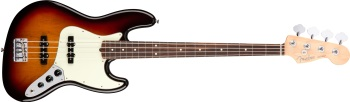 Fender American Professional Jazz Bass: Rosewood Neck Electric Bass Guitar