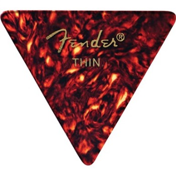 Fender 355 Shape Thin Classic Celluloid Pick -12 Pack-