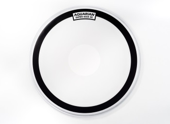 Aquarian Superkick III Coated Single Ply with Power Dot Bass Drum Head