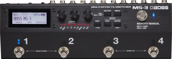 Boss MS-3 Multi Effects-Switcher Pedal