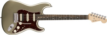 Fender American Elite Stratocaster HSS Shawbucker; Ebony FB Electric Guitar
