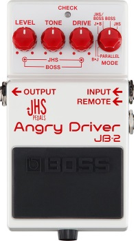 Boss JB-2 Angry Driver Electric Guitar Effects Pedal