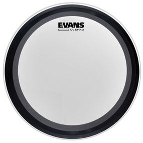 Evans UV Coated EMAD Bass Drum Head