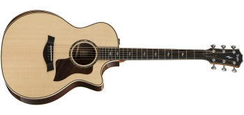 Taylor 814ce Deluxe V-Class Grand Auditorium Cutaway Acoustic/Electric Guitar