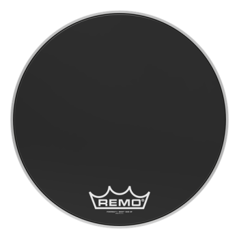 Remo Powermax 2 Ebony Crimplock Bass Drumhead