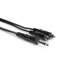 "Hosa CYR102 Dual RCA to 1/4"" Patch Cable"