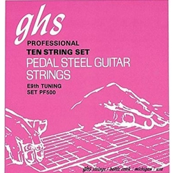 GHS PF500GHS Pedal Steel String Set