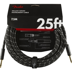 Fender Deluxe Series 25ft Str/Str Instrument Cable