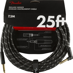 Fender Deluxe Series 25ft Str/Ang Instrument Cable