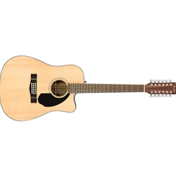 Fender CD-60SCE 12-String Acoustic/Electric Guitar