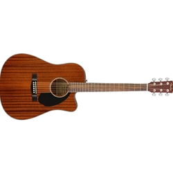 Fender CD-60SCE All Mahogany Dreadnought Acoustic/Electric Guitar