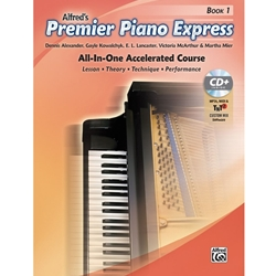 Alfred Piano Express Book 1 with CD; AL0045286