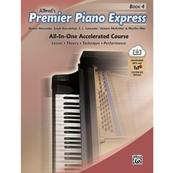 Alfred Piano Express All-In-One Accelerated Course Book 4; AL0046092