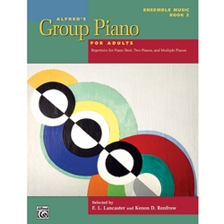 Alfred Group Piano for Adults Book 2; AL0047850