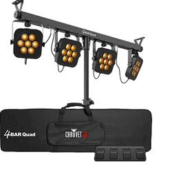 4BAR Quad Stage/Wash Lighting Package